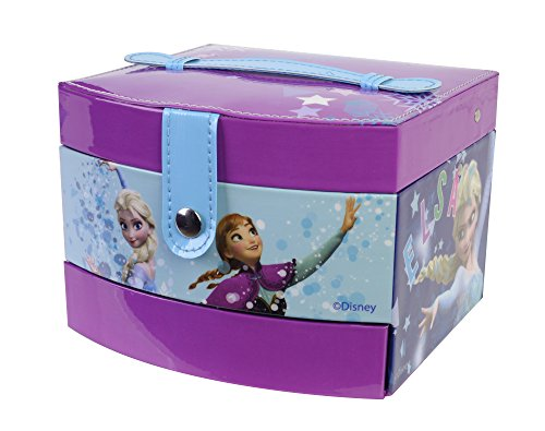 Markwins Frozen Beauty Boutique Kosmetikkoffer enthält Kinderschminke, Schmuck und Sticker (Anna Makeup Frozen)
