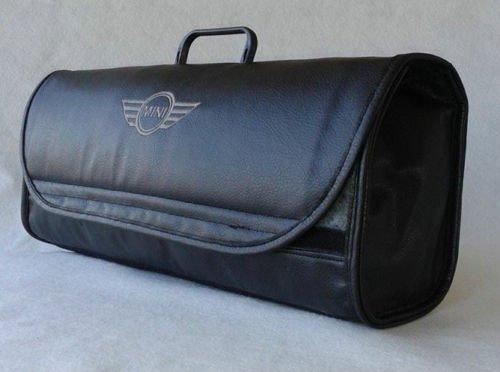 MINI Car Leather Boot Tidy Organiser - Fits all Models