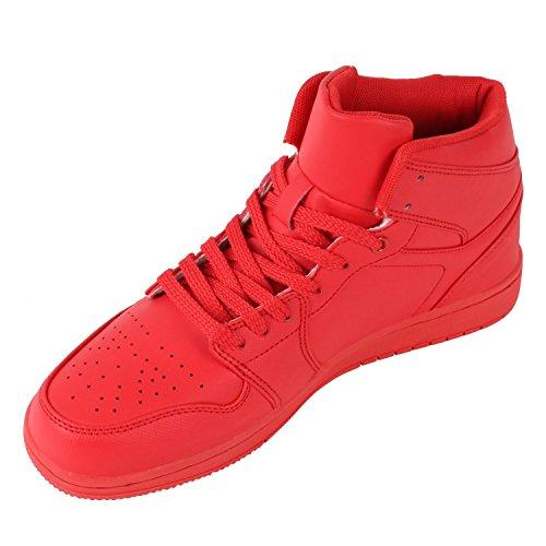 Japado , Sneakers Basses homme Rouge - Rouge