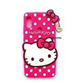 Mobiclonics® Cute Hello Kitty Back Case Cover For Asus Zenfone Max Pro M1 - Pink