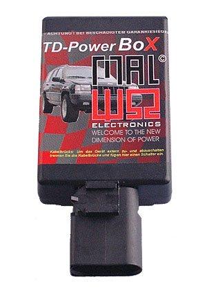 TDUPowerBox Diesel Chiptuning Modul passend für JeepJeep Cherokee 3.1 TD 103 KW / 140 PS / 384 Nm