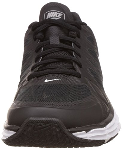 Nike Dual Fusion TR 6, Chaussures de Sport Homme, Taille Black/Metallic Silver/Pure Platinum/White