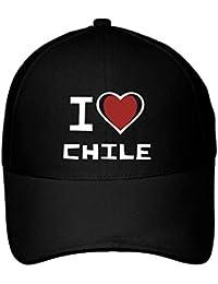 Idakoos I Love Chile Bicolor Heart - Paises - Gorra De Béisbol