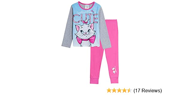 Filles Enfants Beauty /& the Beast Childrens Character Pyjamas Pyjama Pjs 5-6 ans