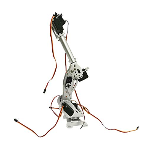 perfk 7 Dof Metall Roboterarm Hand Roboter Manipulator Arm Klaue Für Arduino WiFi Kit Dof Set