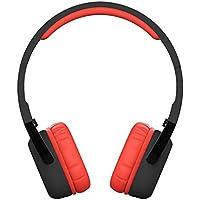 NB-6 Headphones Bluetooth V4.0 Stereo Wireless Headphones Auricolari Cuffie Headset Hands-free Earphone con Microfono Incorporato e Suono Chiaro Compatibili con Smartphone e Tablet Come iPhone Samsung iPad ecc Rosso