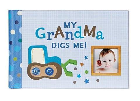 CR Gibson Grandma's Brag/Boast Book -- Baby Album/ Gift Set