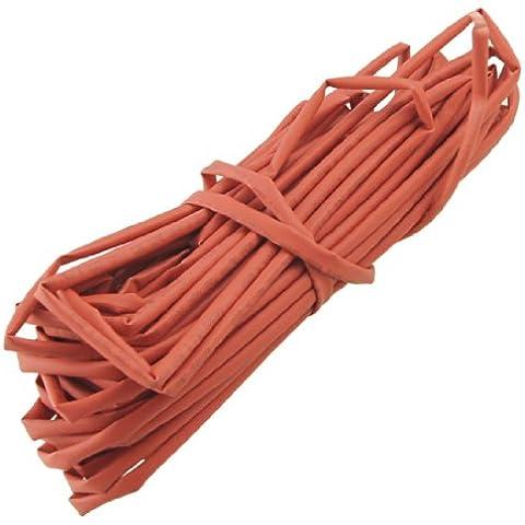 Sourcingmap a12032000ux0388 - Filo tubo involucro termoretraibile termoretraibile manica lunga