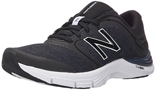 New Balance Wx711 Gym Training Fitness, Chaussures de Sport Femme, Noir, Eu Noir