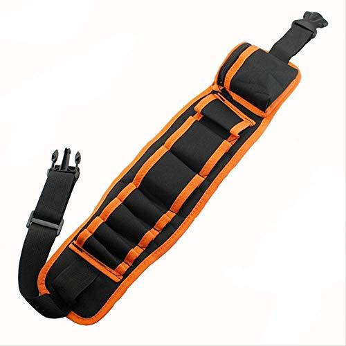 ACRDXFMultifunktions-Werkzeugkoffer Schraubendreher Aufbewahrungstasche Canvas Taille verstellbare Elektriker Repair Tool Box BagOrange -