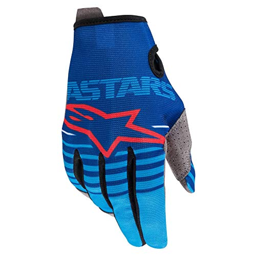 Alpinestars Radar Motocross Handschuhe Blau/Rot L