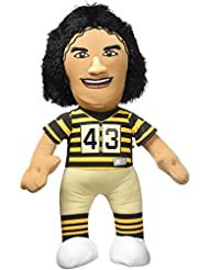 "NFL Pittsburgh Steelers Troy Polamalu Plush Figure, 10"", Striped"