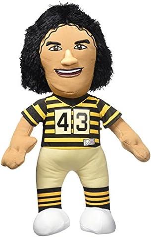 NFL Pittsburgh Steelers Troy Polamalu Plush Figure, 10