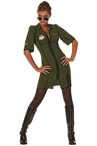Kostüm Fliegerinnen - Panelize Jetpilotin Pilotin Fliegerin US Army (36)