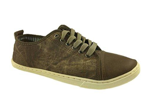 Mc Footwear Ltd , Basses garçon homme marron foncé