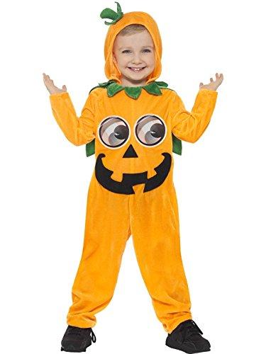 Smiffy's, costume da zucca per bambino piccolo (1-2 anni), 21496t1