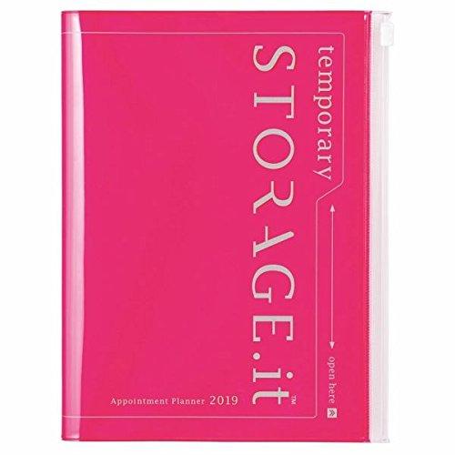 MARK'S 2019 Taschenkalender A5 vertikal, Storage.it Neon pink