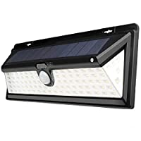 Sensor Solar 90 LED Light Outdoor Path Wall Lamp Waterproof Heatproof Durable