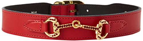 hartman-e-rose-horse-and-hound-collection-collari-per-cani-ferrari-rosso-18-508cm
