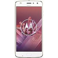Motorola Moto Z2 Play Smartphone (13,97 cm (5,5 Zoll), 4 GB RAM, 64 GB, Android) Fine Gold + JBL SoundBoost 2 Speaker