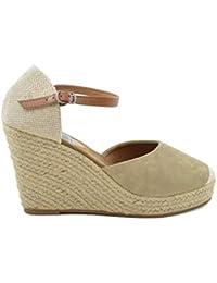 Amazon esAlpargatas Zapatos Mujer Cuña 37 Para De Esparto TJcuF3lK1