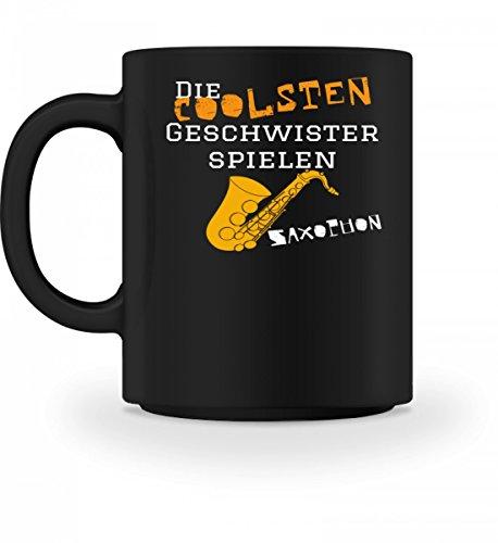 Hochwertige Tasse - Ideal für alle Saxophon Geschwister, die Musik lieben!