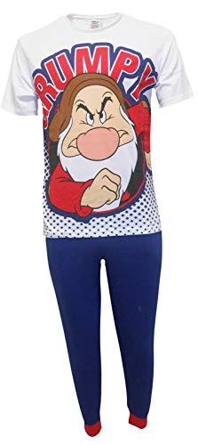 Disney Grumpy Hombres Set de Pijama de Dos Piezas - Medium