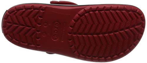 Crocs Crocband Clog, Sabots Mixte Adulte Rouge (Pepper/Black)