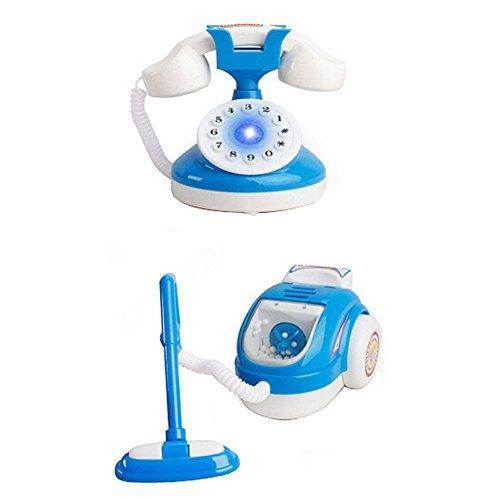 Lovely Home Appliance Modell Spielzeug Kids Life Pädagogische Spielzeug, Telefon & Staubsauger