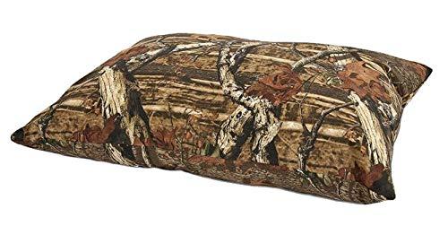 Pet Mate Mossy Oak Hundebett mit Zierkissen, 69 x 91 cm, Mossy Oak Camouflage Muster -