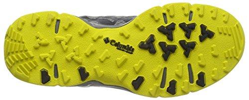 Columbia Ventrailia Outdry« , Chaussures de Randonnée Basses Homme Gris (light Grey/laser Lemon 060)