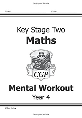 KS2 Mental Maths Workout - Year 4 (CGP KS2 Maths) from Coordination Group Publications Ltd (CGP)