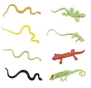 """Toob """"Safari Bulk Bolsa Reptiles miniaturas (Multicolor)"""
