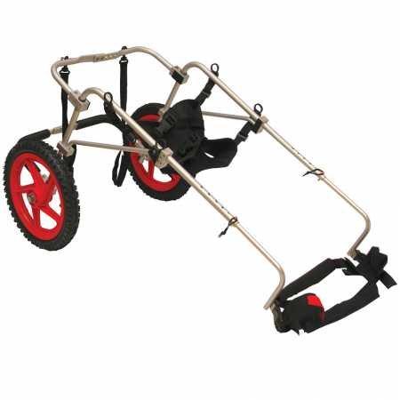 Silla de ruedas para perros - Talla XXS hasta 2kg y altura 20-28cm