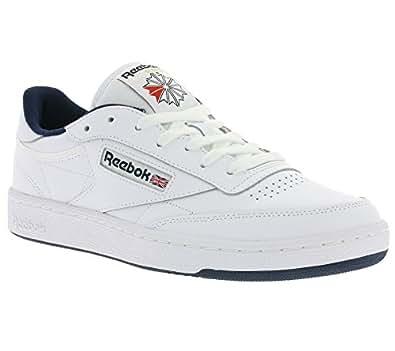 Reebok Herren Club C 85 Sneakers, Elfenbein (Intense White / Navy), 40 EU