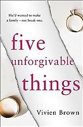 Five Unforgivable Things