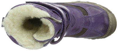 Bisgaard Stiefel mit Tex/Wolle Unisex-Kinder Warm gefütterte Schneestiefel Violett (90 Purple)