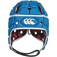 Canterbury 410575111- Casco Headgear con ventilación, Color Azul, tamaño Small