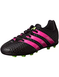 best sneakers 8576d aba07 adidas Performance Ace 16.4 FxG J Chaussures de Football Enfant Noir Rose