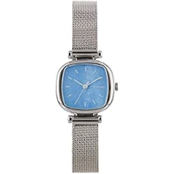 Komono Moneypenny Royale Silver Ladies Watch KOM-W1246