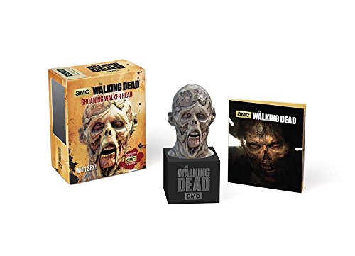 Walking Dead. Mini Groaning Walker Head (Running Press Mini Kit & Book)