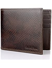 Satya Paul Dark Brown Men's Wallet (AMWLLTA7SP008A)