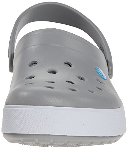 Crocs Band 2.5, Sabots mixte adulte Gris (Light Grey/Electric Blue)