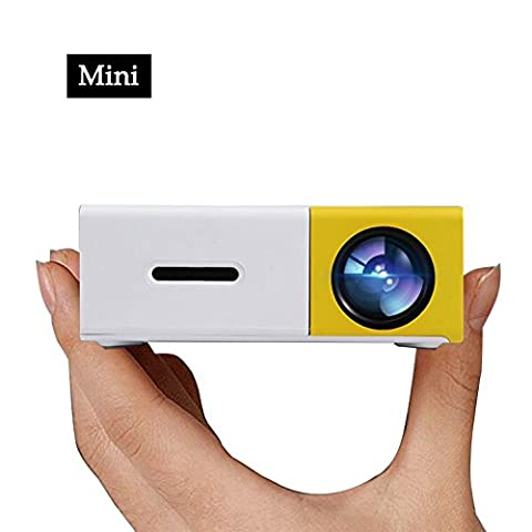 Pico Projector, ARTLII LED Mini Projector connect to iPhone Android Smartphone PC Laptop for Movie TV show Karaoke Video Game,Smartphone
