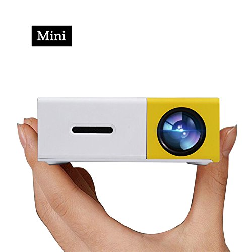 Pico Smartphone Projector, Artlii LED Mini Projectors connect to PC Laptop USB for Movie TV show Karaoke Video Game