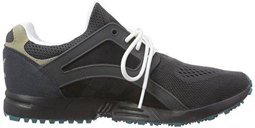 Adidas Racer Lite, Sneakers Basses Adulte Mixte Gris - Grau (Dgh Solid Grey/Core Black/Emerald F15-St)