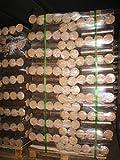 960 kg Rund Briketts Premium Qualität, zertifiziert nach DIN plus EN 14961-3-Kls. A1 aus 100 % Hartholz !!!!