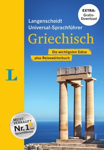 """Langenscheidt Universal-Sprachführer Griechisch - Buch inklusive E-Book zum Thema """"Essen & Trinken"""": Die wichtigsten Sätze plus Reisewörterbuch"""