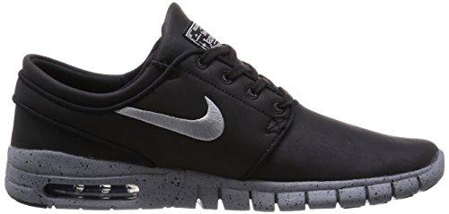 Nike SB Stefan Janoski Max L QS Summer 2015 Black/metalic cool grey-cool grey