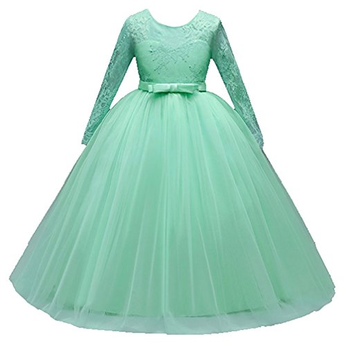Mädchen Kinder Mit Kleider Blumenmädchenkleider...